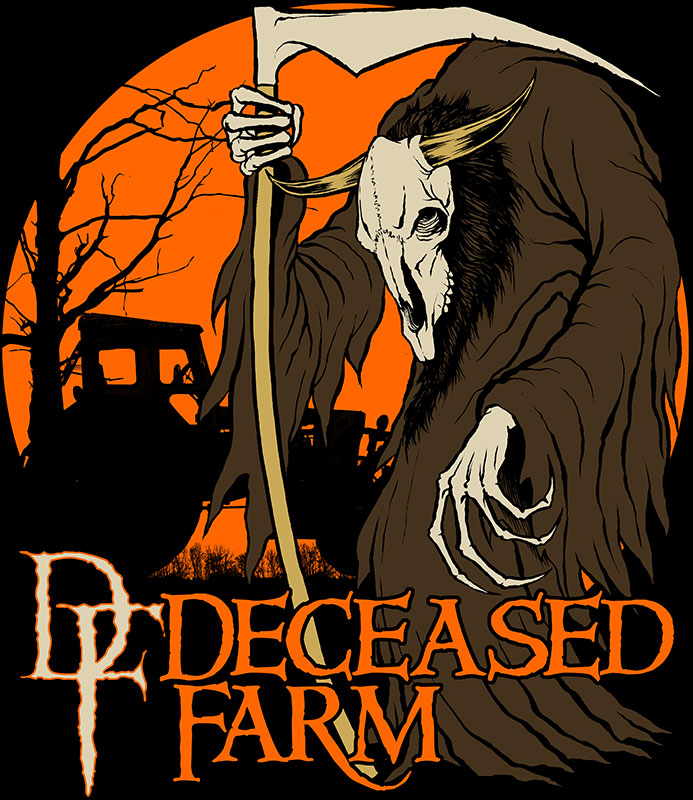 The Deceased Farm 2015 T-Shirt!